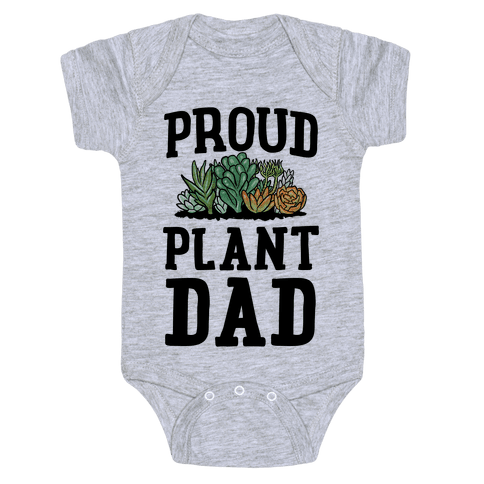 Proud Plant Dad Baby Onesy