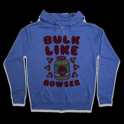 Bulk Like Bowser Zip Hoodie