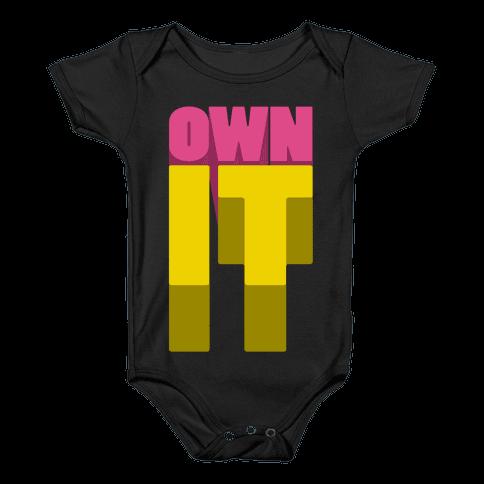 Own It Baby Onesy