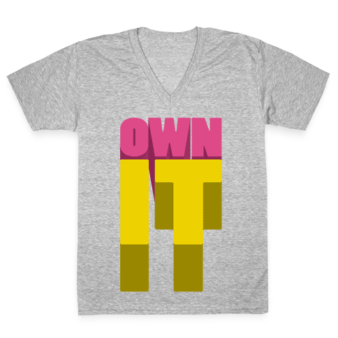 Own It V-Neck Tee Shirt
