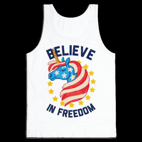 Believe In Freedom Tank Top