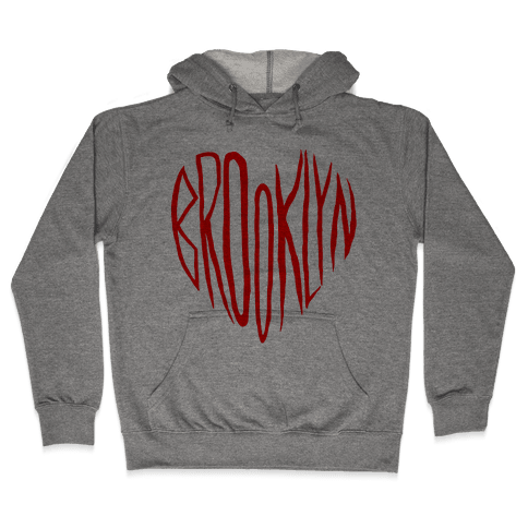 I LOVE BROOKLYN Hooded Sweatshirt