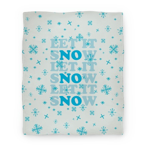 Let It sNOw Blanket
