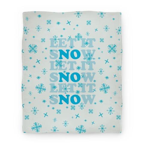 Let It sNOw Blanket