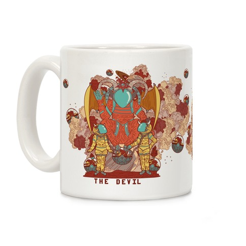 The Devil in Space Coffee Mug