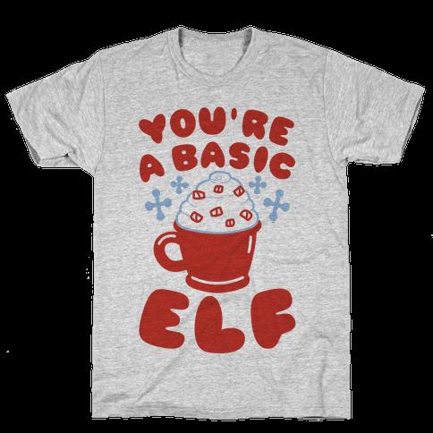 Basic Elf Mens T-Shirt