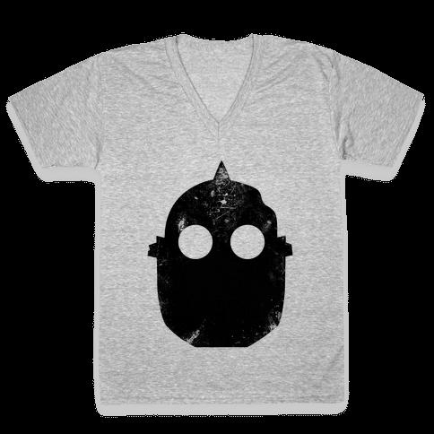 Vintage Giant V-Neck Tee Shirt