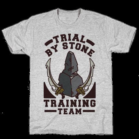 Trial by Stone Training Team Mens T-Shirt