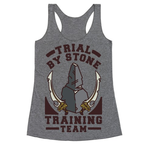 Trial by Stone Training Team Racerback Tank Top