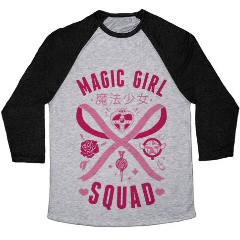 Magic Girl Squad Baseball Tee