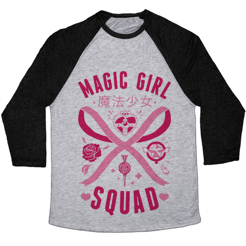 Magic Girl Squad Baseball Tee