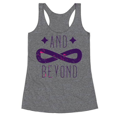 To Infinity and Beyond (half 2) Racerback Tank Top