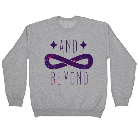 To Infinity and Beyond (half 2) Pullover