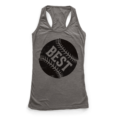 Best Pitches (Best) Racerback Tank Top