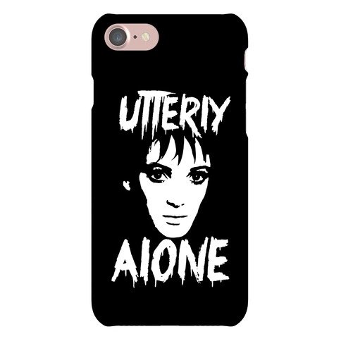 Utterly Alone Phone Case