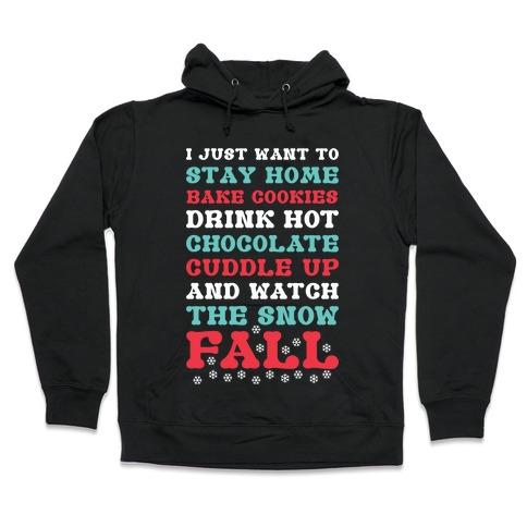 Snow Fall Hooded Sweatshirt