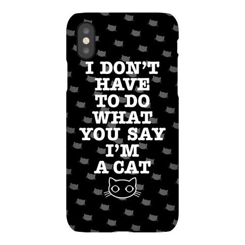 I'm A Cat Phone Case