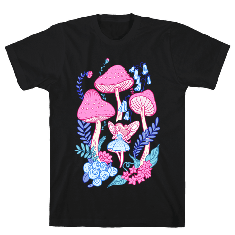 Pastel Fairy Garden Mens T-Shirt