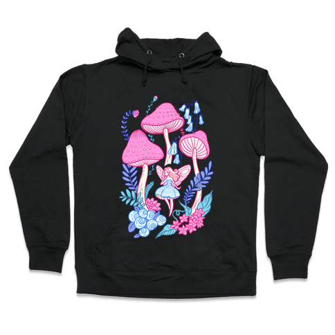 Pastel Fairy Garden Hooded Sweatshirt