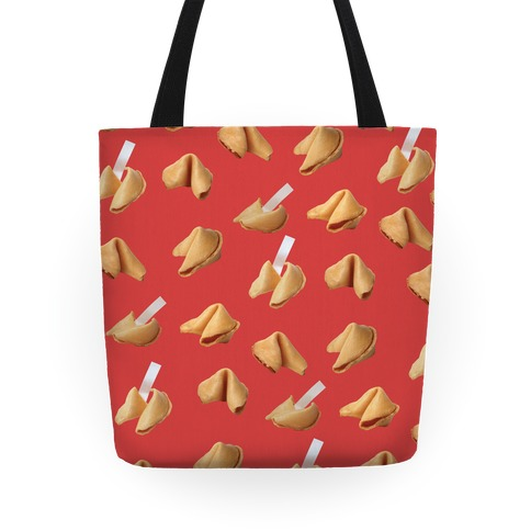 Fortune Cookie Tote (Red)
