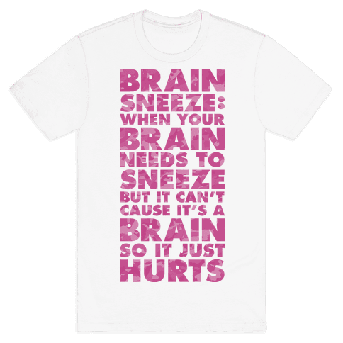 Brain Sneeze Uncle Si Quote Mens T-Shirt