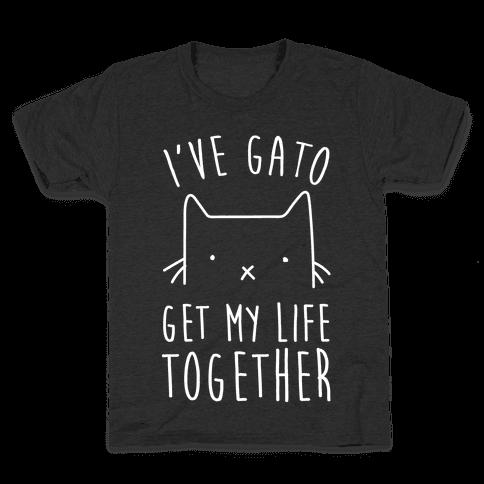 I've Gato Get My Life Together Kids T-Shirt