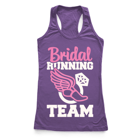Bridal Running Team Racerback Tank Top