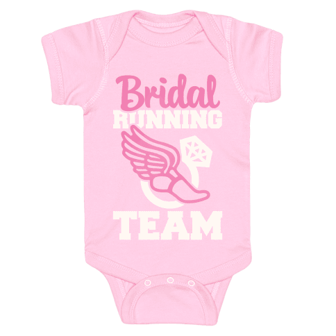 Bridal Running Team Baby Onesy