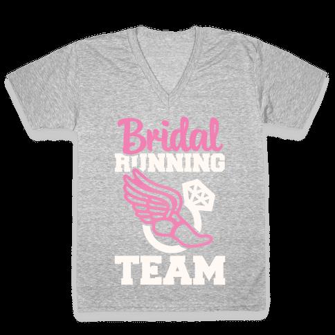 Bridal Running Team V-Neck Tee Shirt