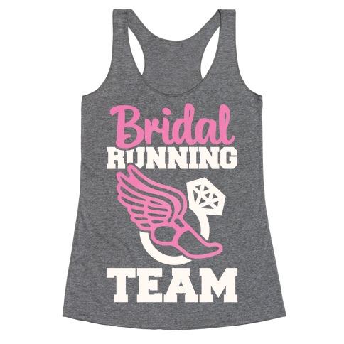 Bridal Running Team Racerback Tank Top