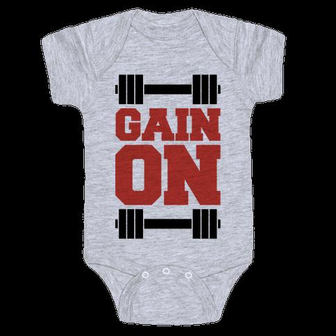 Gain On Baby Onesy