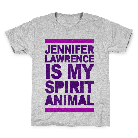 J Law Is My Spirit Animal Kids T-Shirt