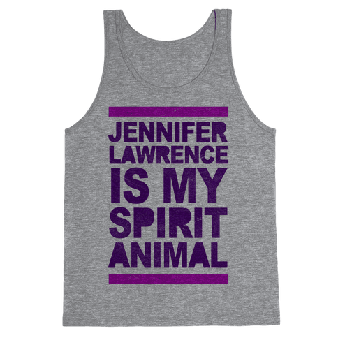J Law Is My Spirit Animal Tank Top