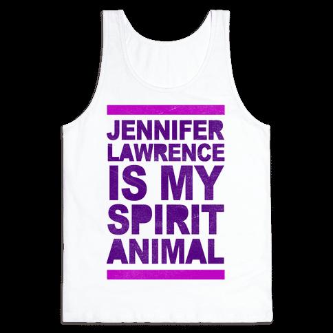 J Law Is My Spirit Animal Tank Top