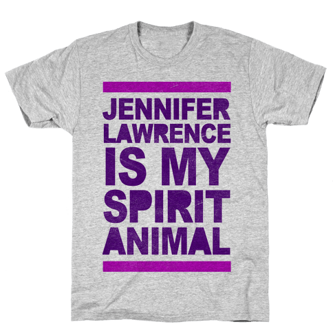 J Law Is My Spirit Animal Mens T-Shirt