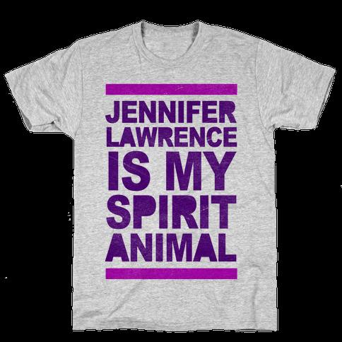 J Law Is My Spirit Animal Mens T-Shirt