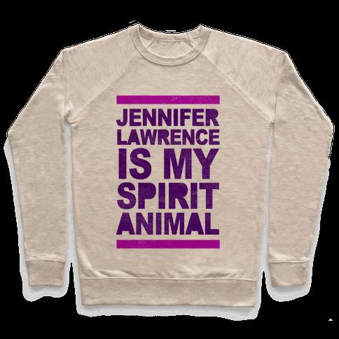 J Law Is My Spirit Animal Pullover