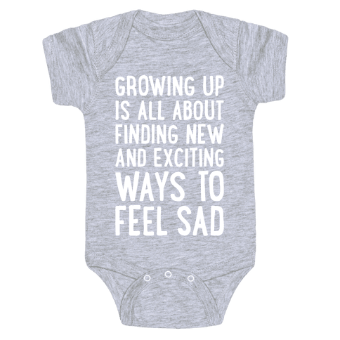 Growing Up Baby Onesy