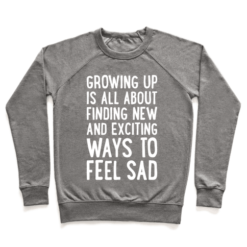 Growing Up Pullover