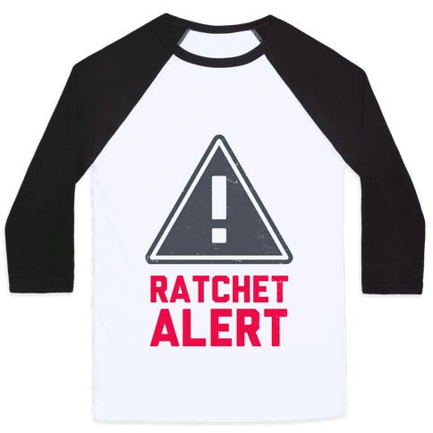 Ratchet Alert! Baseball Tee