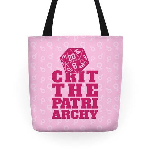 Crit The Patriarchy Tote