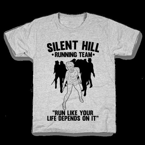Silent Hill Running Team Kids T-Shirt