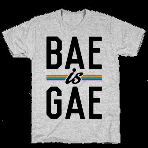 Bae Is Gae Mens T-Shirt