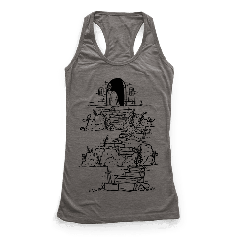 Castle Steps Racerback Tank Top