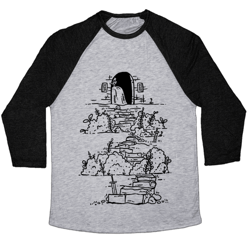 Castle Steps Baseball Tee
