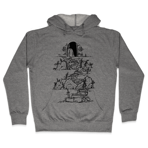 Castle Steps Hooded Sweatshirt
