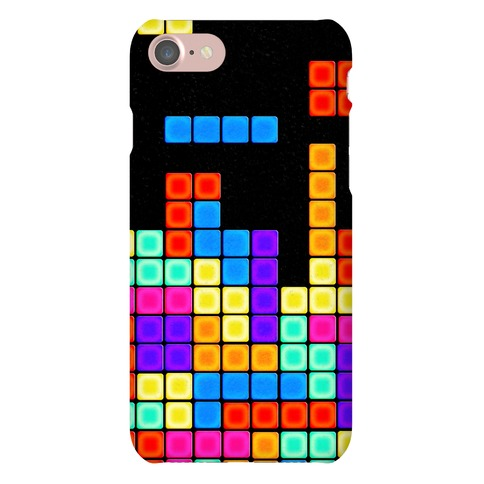 Tetris Pattern Phone Case