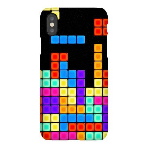 Tetris Pattern Phone Case