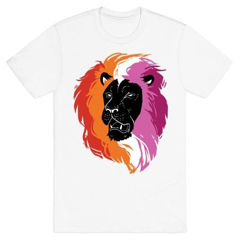 Lesbian Lion Pride T-Shirt