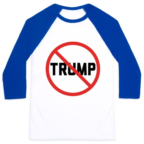 No Trump Baseball Tee